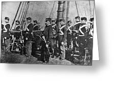 Civil War: Uss Kearsarge Greeting Card