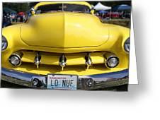 Classic Car No. 11 Greeting Card