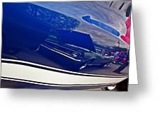 Classic Car Reflection Greeting Card