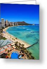 Classic Waikiki Greeting Card