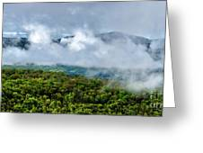 Clearing Storm West Virginia Highlands Greeting Card