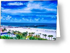 Clearwater Beach, Florida Greeting Card