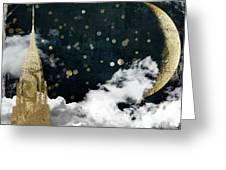 Cloud Cities New York Greeting Card