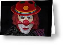 The Clown 3 Greeting Card