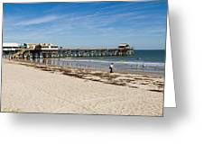 Cocoa Beach In Florida Greeting Card