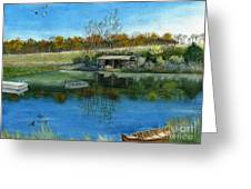Cole Hill Pond Greeting Card