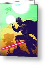 Collection Star Wars Poster Greeting Card