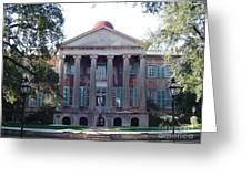 College Of Charleston Greeting Card