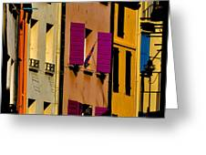 Collioure Street Greeting Card