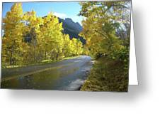 Colorado Byway Greeting Card