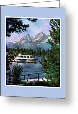 Colter Bay In The Tetons Greeting Card