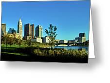 Columbus Ohio Panorama Greeting Card