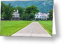 Commandants House At West Point Greeting Card
