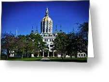 Connecticut State Capitol Greeting Card
