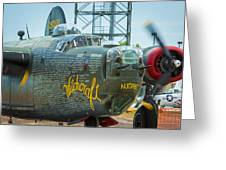Consolidated B-24j Liberator Greeting Card