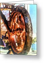 Copper Bike Liberty Ambassador Ny Greeting Card