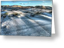 Coquina Beach, Cape Hatteras, North Carolina Greeting Card