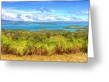 Costa Rica Landscape Greeting Card