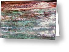 Costal Tides Greeting Card