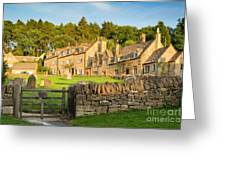 Cotswolds Evening Greeting Card