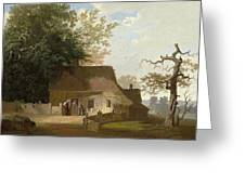 Cottage Scenery Greeting Card