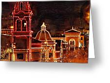 Country Club Plaza Lights Kansas City Missouri Greeting Card