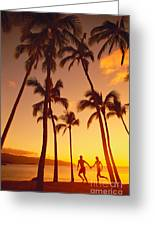 Couples Vacation Greeting Card
