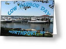 Cow Harbor Day Fun Greeting Card