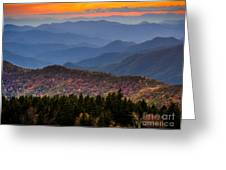 Cowee Overlook. Greeting Card