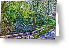 Creekside Greeting Card by William Norton