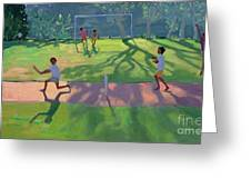 Cricket Sri Lanka Greeting Card by Andrew Macara