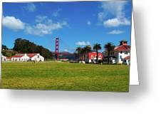 Crissy Field - San Francisco Greeting Card