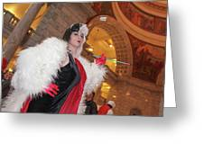 Cruella Greeting Card