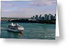 Cruise Ship 5 Greeting Card