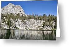 Crystal Crag Greeting Card by Kelley King