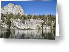 Crystal Crag Greeting Card