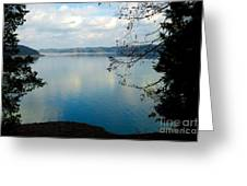 Cumberland Lake Greeting Card