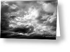 Cumulonimbus Clouds  Greeting Card