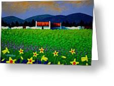 Daffodil Meadow Greeting Card
