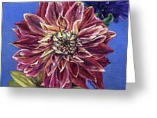 Dahlia's Desire Greeting Card