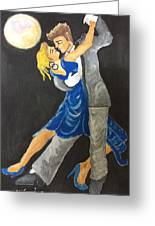 Dance Me To The Moonlight Greeting Card