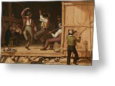 Dance Of The Haymakers Greeting Card
