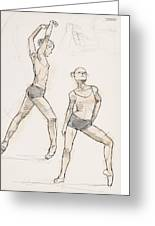 Dance Studies Greeting Card