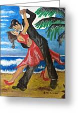 Dance With Me Make Me Sway Greeting Card