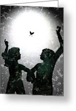 Dancing Silhouettes Greeting Card