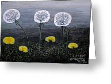 Dandelion Family Greeting Card