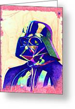 Darth Vader Greeting Card by Kyle Willis