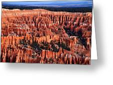 Dawn In Bryce Canyon Greeting Card