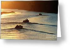 Dawn Patrol Greeting Card