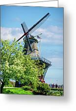 De Zwaan Windmill Greeting Card